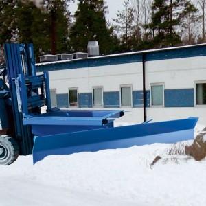 Chasse neige pour chariot élévateur