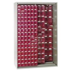 Armoire à panneaux coulissants pour blocs tiroirs