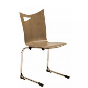 Chaise luge à coque bois