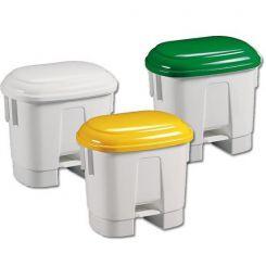 Poubelle de tri sélectif 30 litres