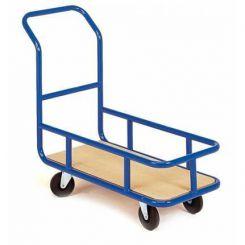 Chariot 1 dossier nu à rehausse - 1300 x 600