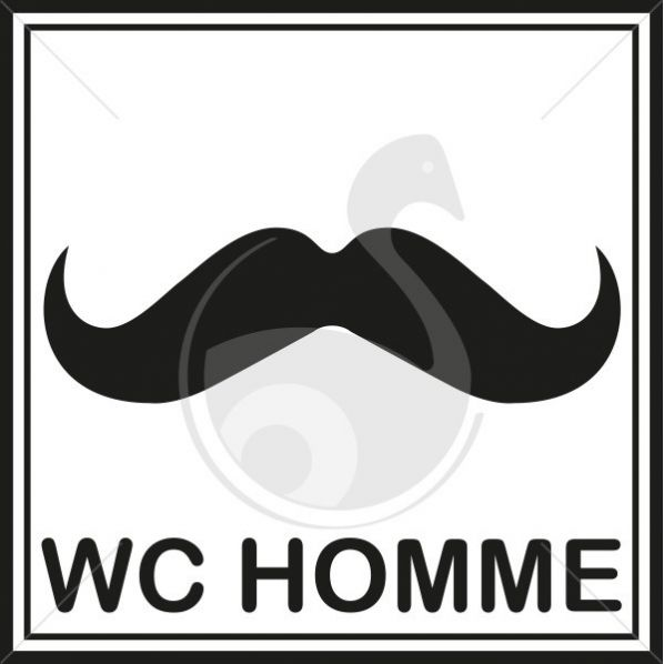 Pictogramme Toilettes Hommes Stylis 233 S Roll 233 Co Fr
