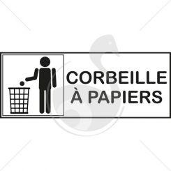 Picto corbeille à papiers