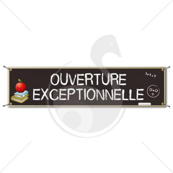 B che v nement ouverture exceptionnelle roll for Publication exceptionnelle