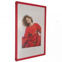 Cadre plastique rouge