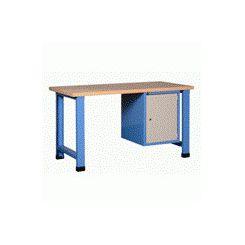 Etabli d'atelier mécano avec bloc 1 porte 550 mm