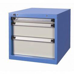 Bloc 3 tiroirs 50-150-200 mm pour établi atelier