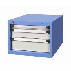 Bloc 3 tiroirs 50 -100 et 150 mm pour établi atelier