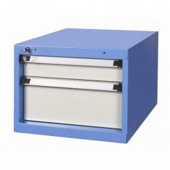 Bloc 2 tiroirs 100 et 200 mm pour établi atelier