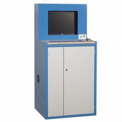 Armoire informatique spéciale écran plat