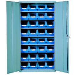 Armoire 2 portes avec bacs 10 litres