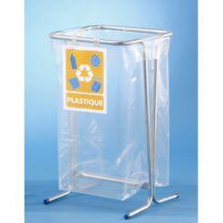 Panneaux affichage tri sélectif pour support sac poubelle
