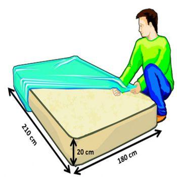 housse protection pour matelas roll. Black Bedroom Furniture Sets. Home Design Ideas