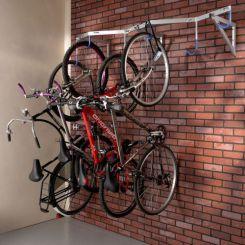 Râtelier mural pour 6 vélos suspendus