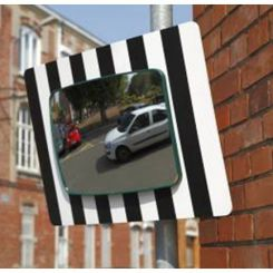Miroir rectangulaire pour usage domaine public