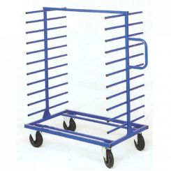 Chariot avec bras support double face