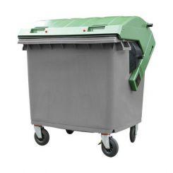 Conteneur à déchets 1100 litres bicolore