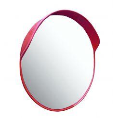 Miroir de sécurité avec visière