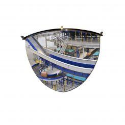 Miroir de surveillance dôme