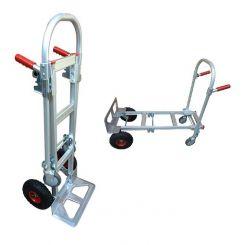 Diable chariot aluminium 2 en 1