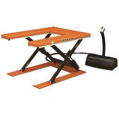 Table élévatrice électrique plateau en U