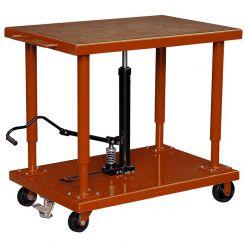 Table de mise à niveau hydraulique 2700kg