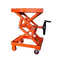Table élévatrice à vis sans fin - capacité 100 kg