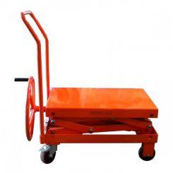 Table élévatrice à vis sans fin - capacité 250 kg