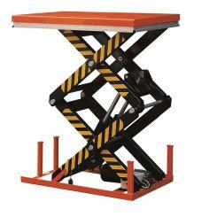 Table élévatrice électrique deux ciseaux|Niveau constant