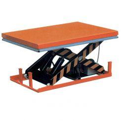 Table élévatrice électrique 1000kg - Plateau pivotant