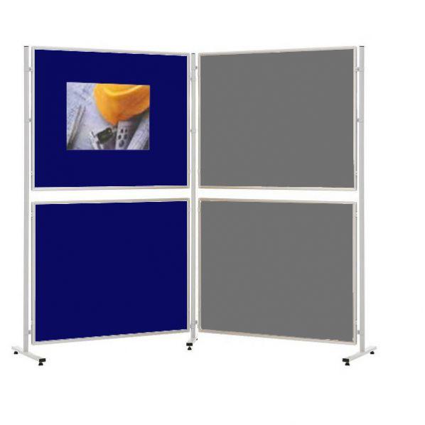 panneau pour expositions panneau modulable en zig zag rolleco. Black Bedroom Furniture Sets. Home Design Ideas