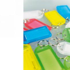 Porte-clés plastique