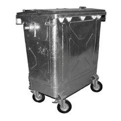 Conteneur poubelle galvanisé - 770 litres