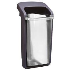 Poubelle de ville Translucide 50 litres
