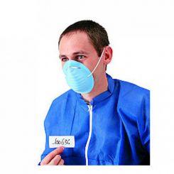 Masques coquille bleu 2 plis