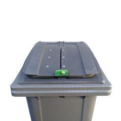 Conteneur déchets pour papiers confidentiels - 120 litres
