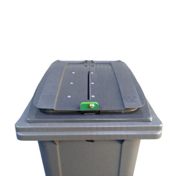 conteneur poubelle pour papiers confidentiels 240 litres. Black Bedroom Furniture Sets. Home Design Ideas
