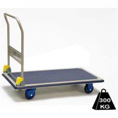 Chariot pliant long plateau 300 kg - PRESTAR