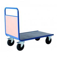 Chariot de manutention 1 dossier bois - 500 kg