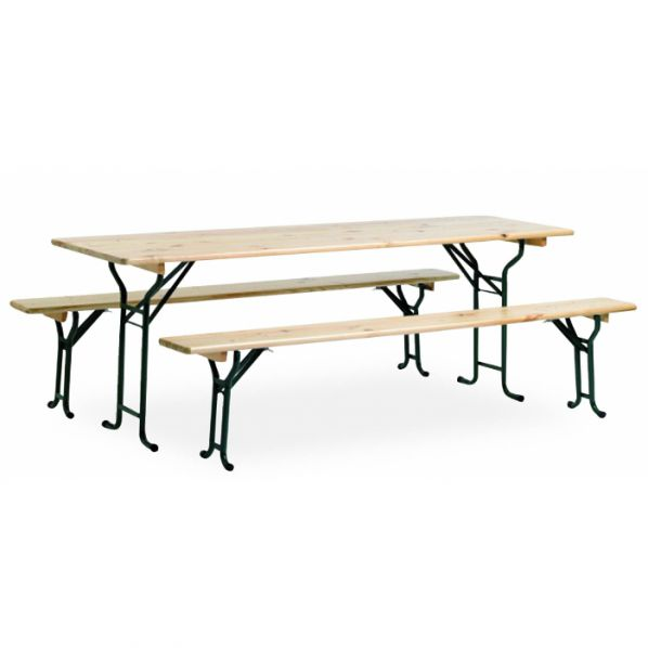 Ensemble table et banc de brasserie roll - Ensemble table et banc ...