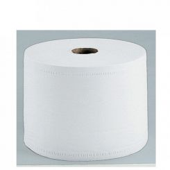 Lot de 2 Bobines blanches pour essuyage 1500 formats 2 plis 21x30cm