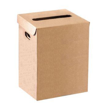 Corbeille à papier en carton - 36 litres