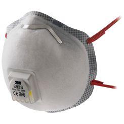 Masque de protection respiration 3M 8833 FFP3