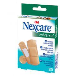 Boîte de 20 pansements universel Nexcare