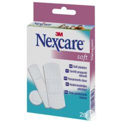 Boîte de 20 pansements Soft Nexcare