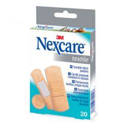 Boîte de 20 pansements en textile Nexcare