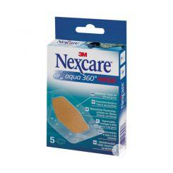 Boîte de 5 bandes de pansement Aqua 360° Nexcare
