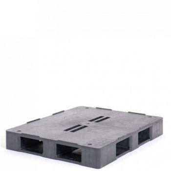 Palette charge lourde plastique 1000 x 1200 mm