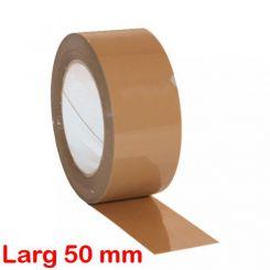 Ruban adhésif havane PVC 50 mm