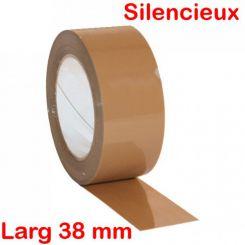 Adhésifs d'emballage silencieux acrylique 38 mm